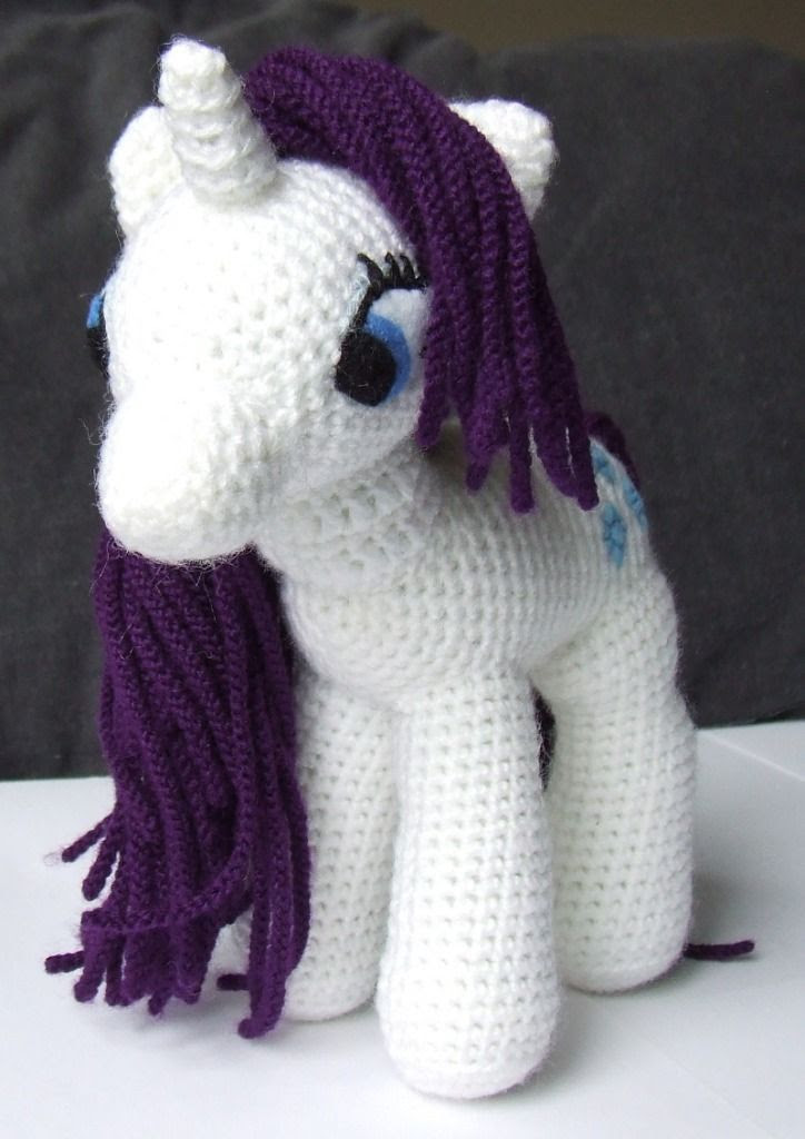 My Little Pony Toy Crochet Pattern! « The Yarn Box The Yarn Box