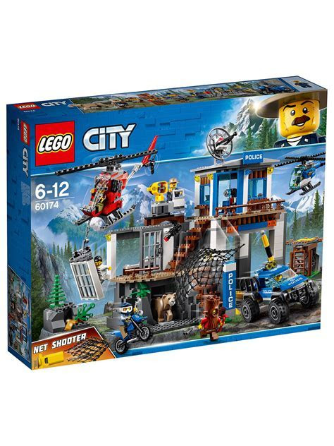 LEGO City 60174 Mountain Police Headquarters at John Lewis