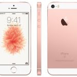 win an iPhone SE in rosegold