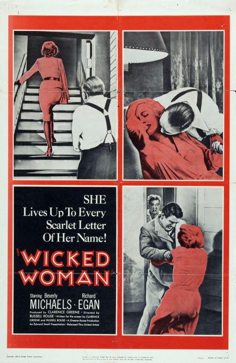 Wicked Woman. A gritty jewel that's sleazy, sexy, sympathetic and sad…