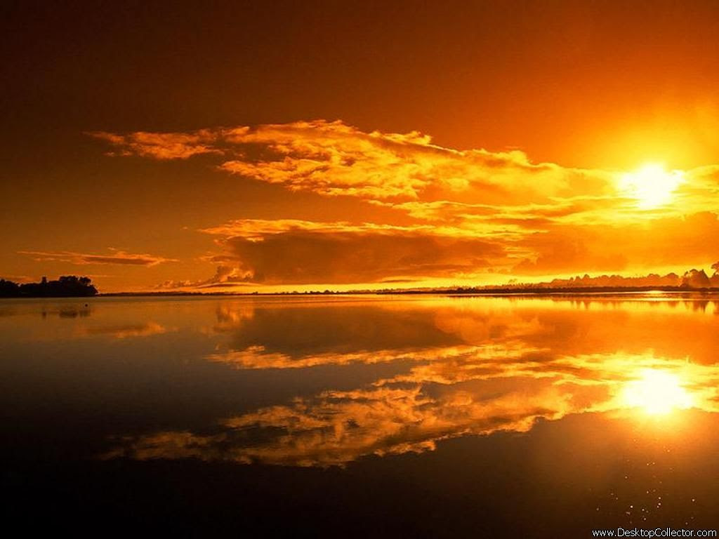 Amazing Sunset Wallpaper 1024x768 1601