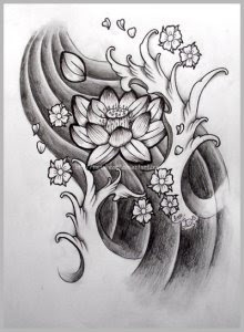 Tattoo Gallery Japanese Flower Tattoo Designs