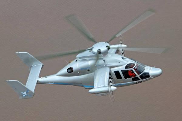 El vuelo del X3 de Eurocopter. (Foto: Eurocopter)