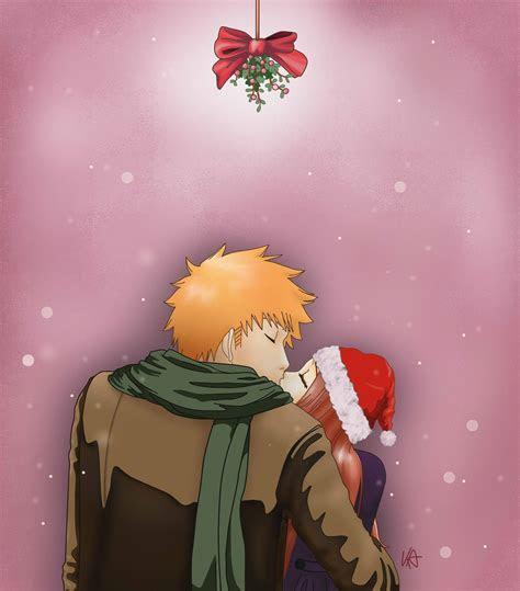 bleach christmas  daily anime art