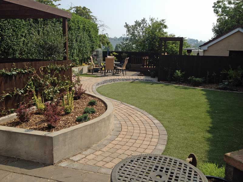 New Design - Dog and Child Friendly Garden | Rogerstone ...