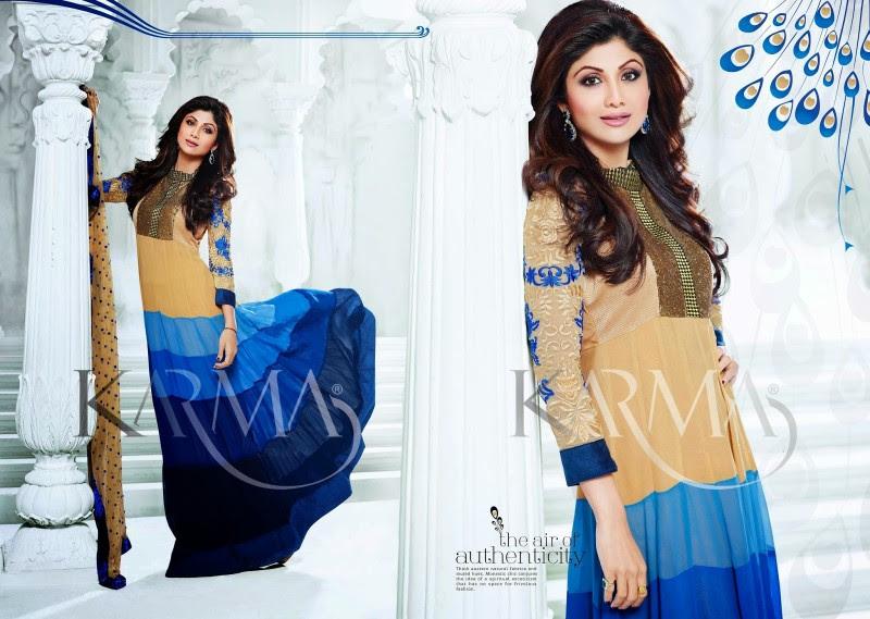 Shilpa-Shetty-Bollywood-Indian-Wear-Ankle-Length-Fancy-Anarkali-Frock-New-Fashion-Dress-