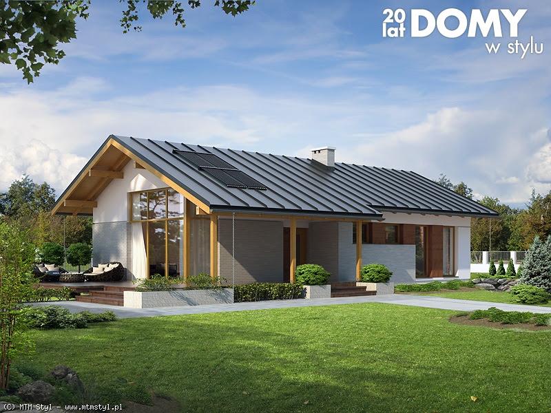 Domy Parterowe Tanie W Utrzymaniu Projekty Domów