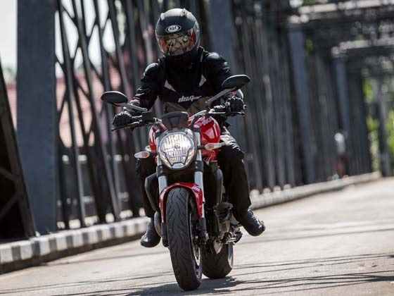 Ducati Monster 821 - First impressions