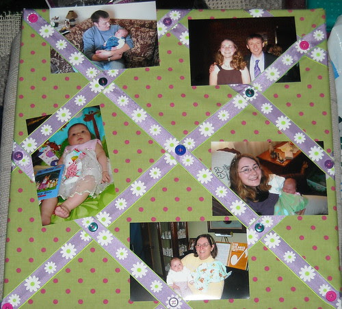 Bulletin Board with Pictures