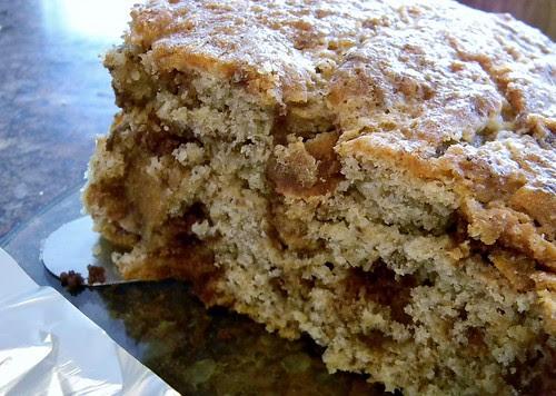 Coffee Crisp Coffee Cake