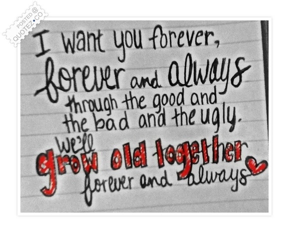 Forever And Always Love Quote Quotezco
