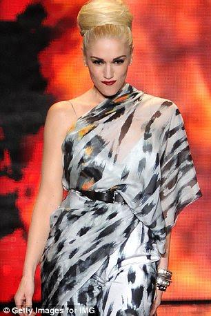 No-show: Ms Stefani na pista no final da sua LAMB mostrar esta época do ano passado