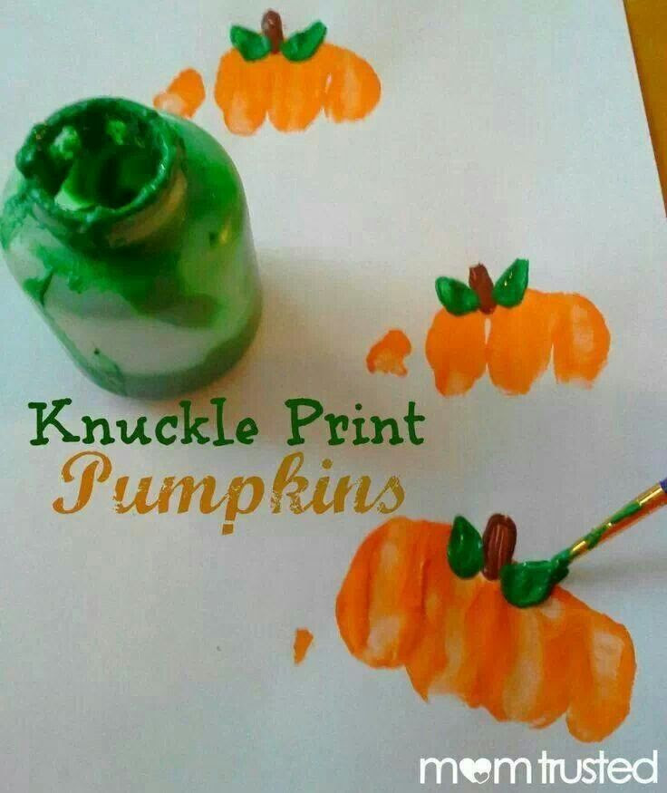 Cute idea for Halloween craft