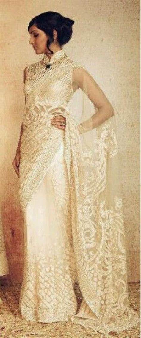 Wedding Theme   White Wedding Sarees & Lehengas #2304403