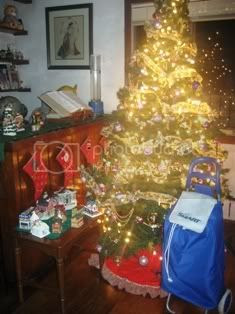 Christmas Tree and SMART Roller Bag