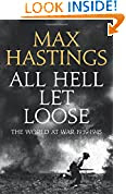 All Hell Let Loose by Max Hastings book cover