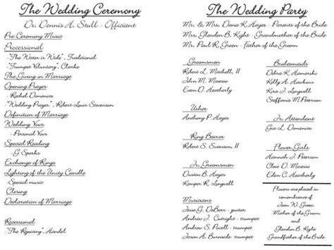 Wedding ceremony outline, Wedding ceremonies and Wedding