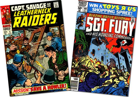 Cap Savage #6/Sgt. Fury #160