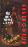 The Nine Wrong Answers