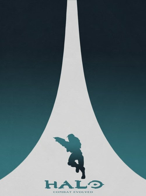 The Halo Posters Series - Created by Colin Morella