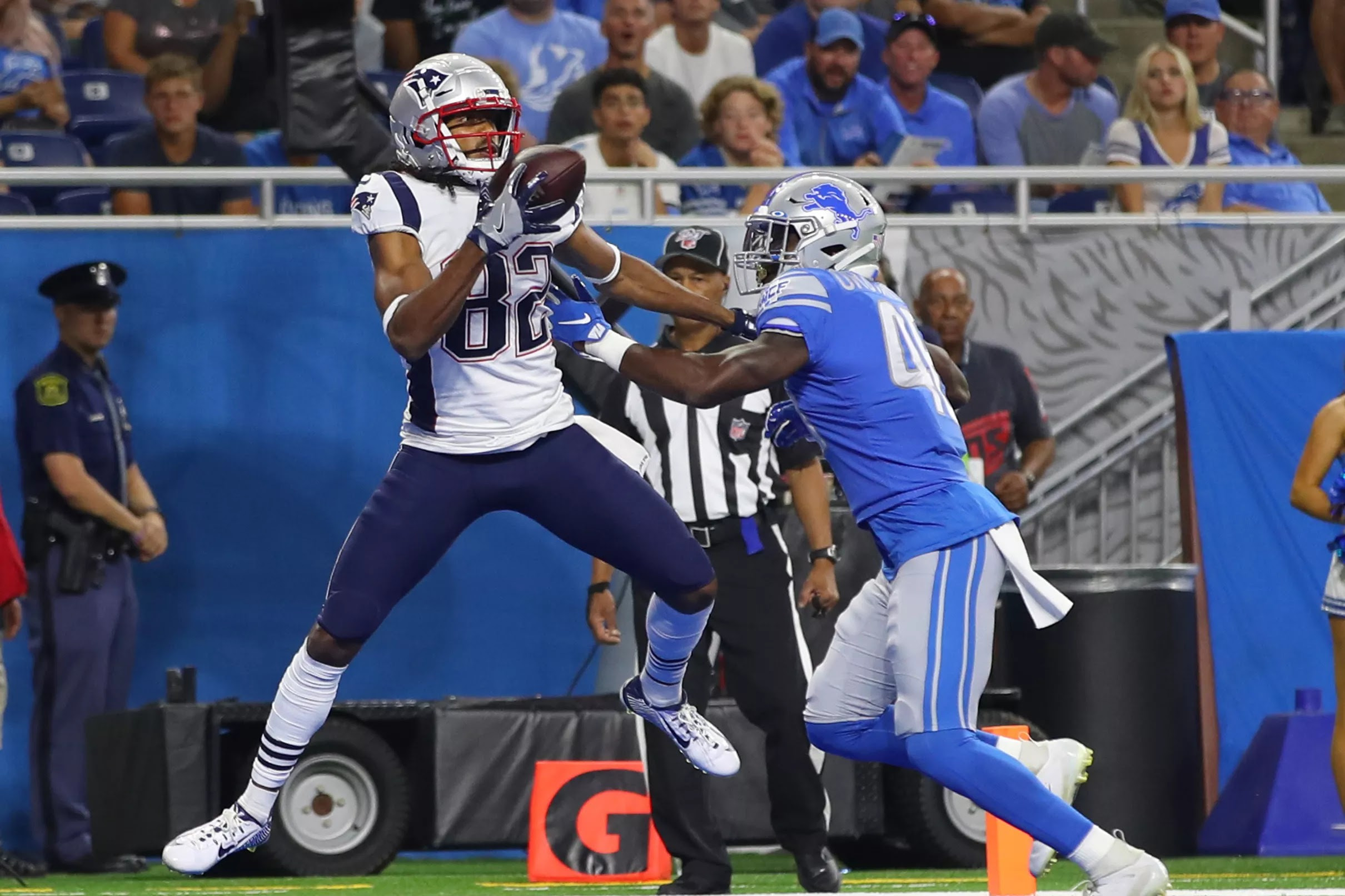 Preseason Patriots vs Lions: Relive the highlights from ...