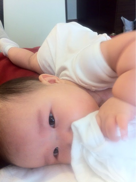 Hanae tries to roll