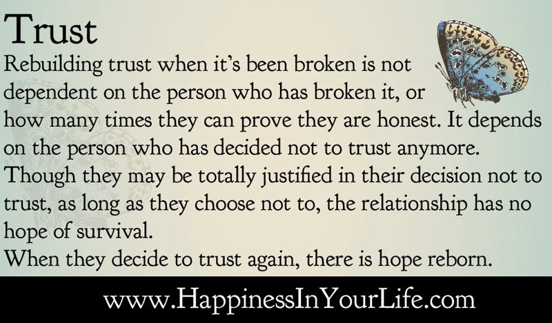 Quotes About Broken Trust 52 Quotes