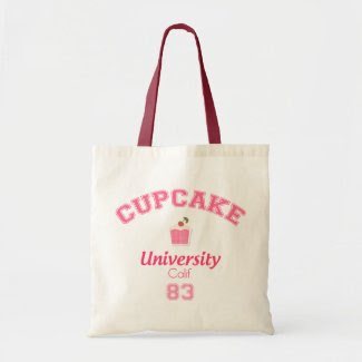 Cupcake University Eco Bag