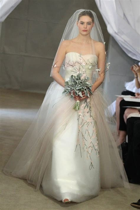 Spring 2013 Bridal Gowns by Carolina Herrera   OneWed