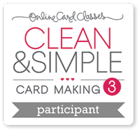 Clean&Simple card making 3