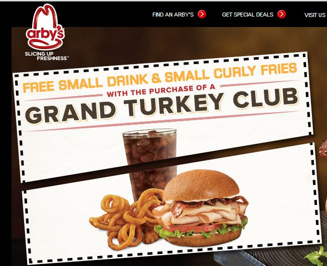 Arby's coupon