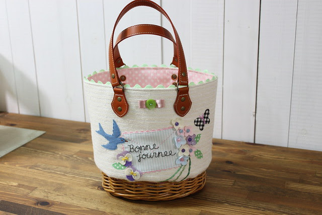 spring basket bag