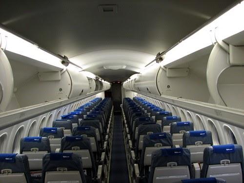 Airtravel Photos Flybe Dash 8 Q400 Cabin View