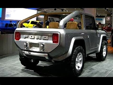 ford bronco   design engine review youtube