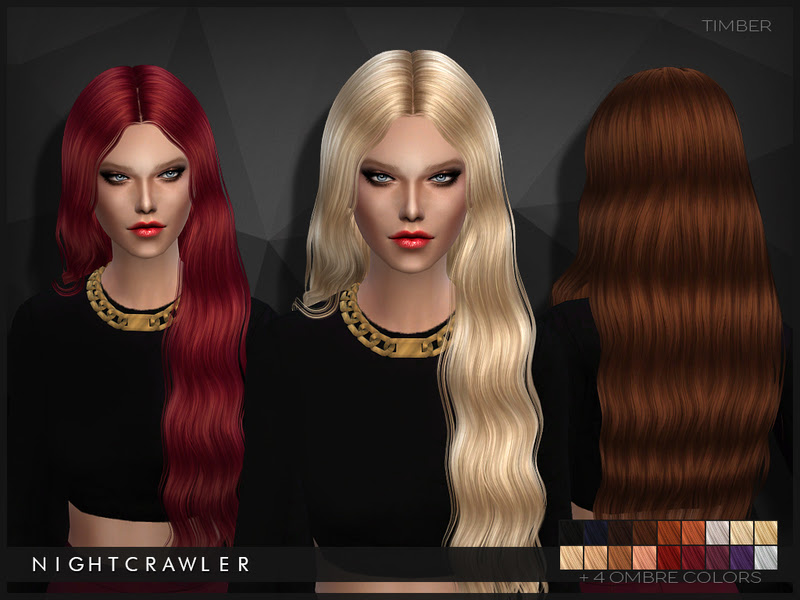 Sims 4 Hairs ~ The Sims Resource: Timber hairstyle by ...