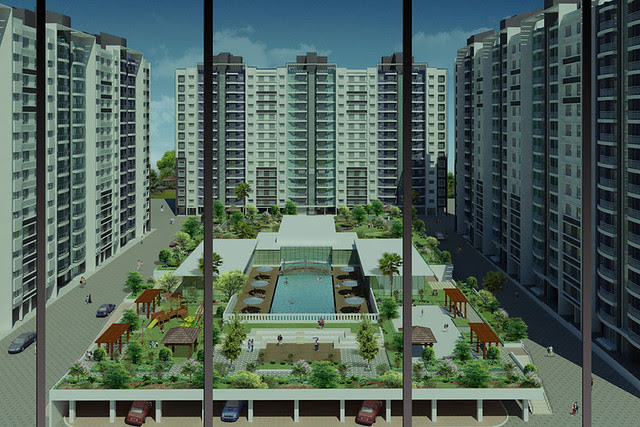 Megapolis Smart Homes 2 Internal Layout with Amenities