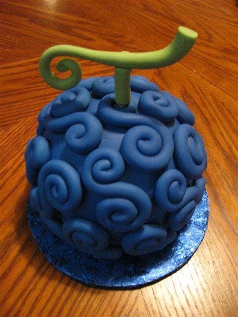 One Piece Devil Fruit Gomu Gomu Cake   CakeCentral.com