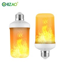 CHIZAO LED Dynamic flame effect light bulb For bar hotel restaurant party