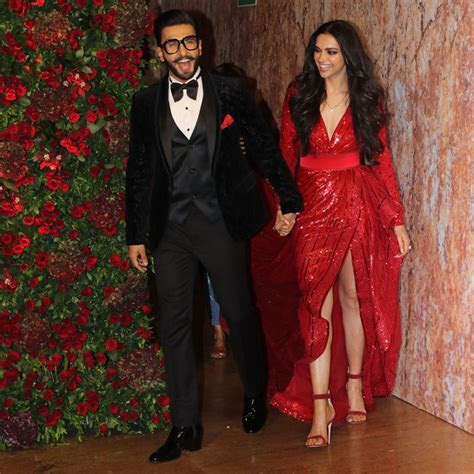 Deepika Padukone Ranveer Singh Dress Dramatically for