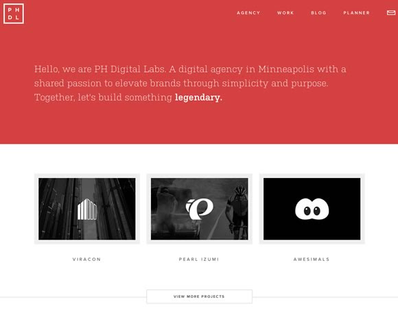 19 Examples of Minimalistic Web Designs