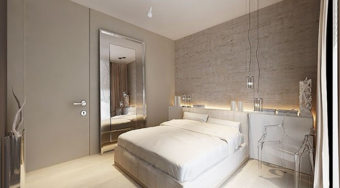 Dove gray bedroom decor