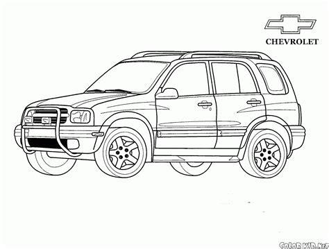 boyama sayfasi jeep chevrolet