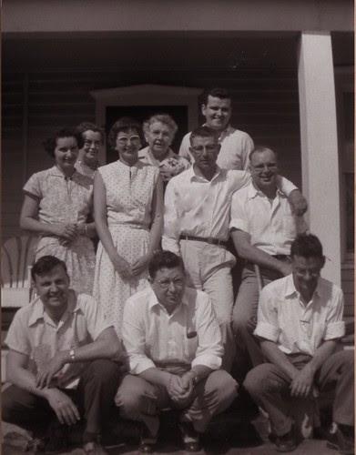 aunts & uncles 1957