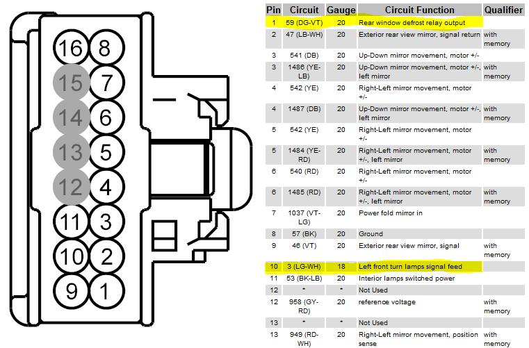 2010 F150 Mirror Wiring Diagram Wiring Diagram Edition A Edition A Bowlingronta It
