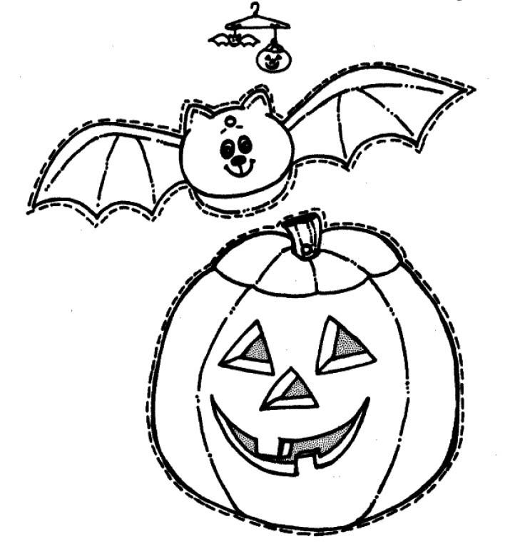 Dibujos De Murcielagos De Halloween Paginas Para Colorear De