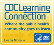 CDC Learning Connection button