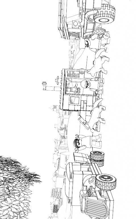 Malvorlage - Lego city ausmalbilder ll9fn