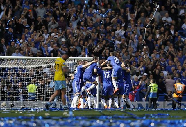 É penta! Chelsea vence apertado e é campeão inglês