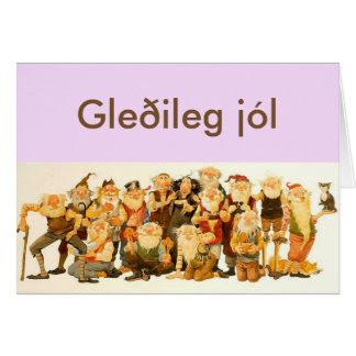 Isländisch Frohe Weihnachten.Isländisch Frohe Weihnachten Italiaansinschoonhoven