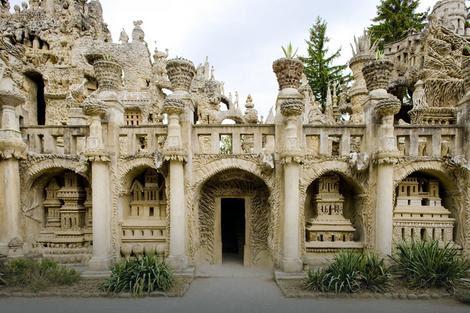 Palata podseća na hinduističke hramove
